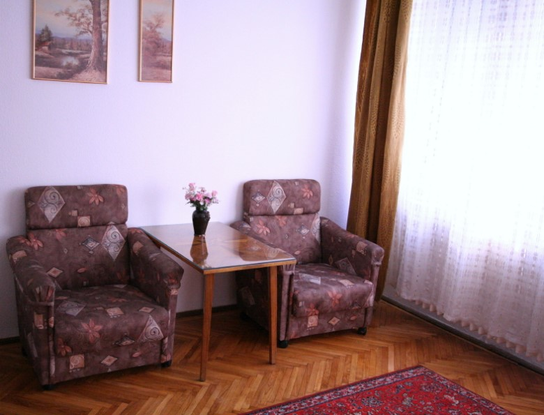 Budapest: See Our Rumbach apartment - Living Room