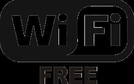 Internet: Free Wi-Fi